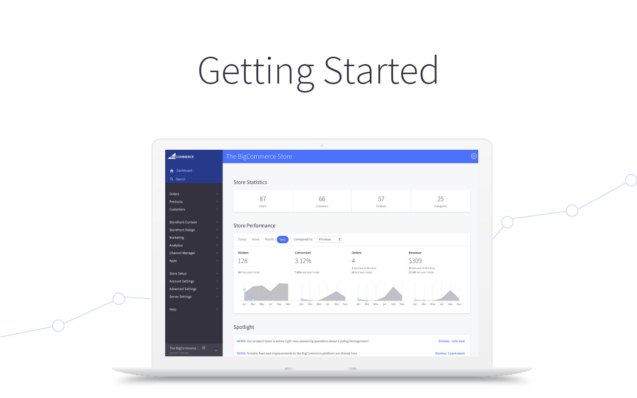 Getting Started with BigCommerce