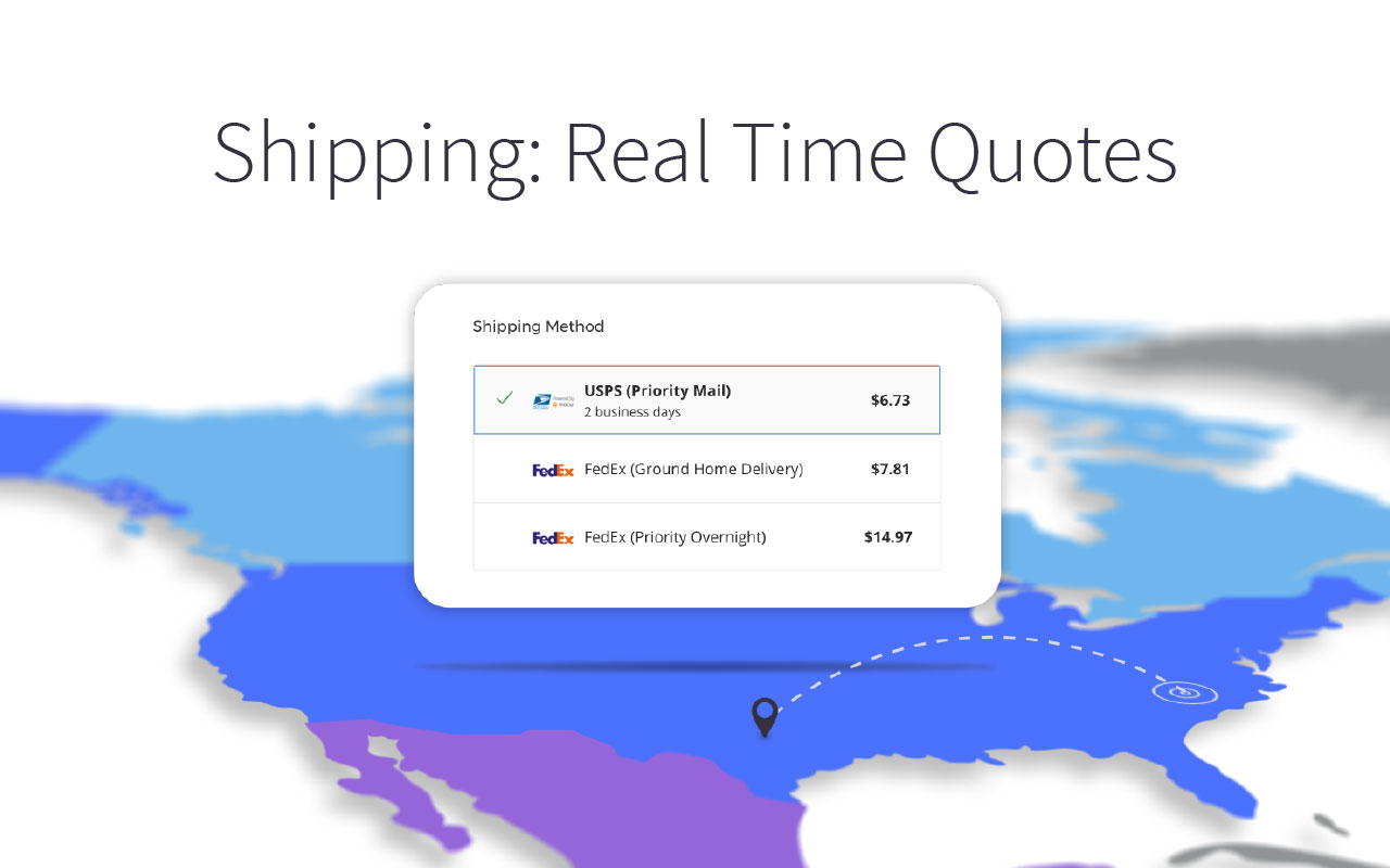 Shipping: Real Time Quotes